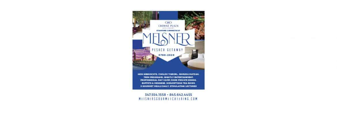 Meisners Gourmet Catering Passover Program 2020 in Stamford, Connecticut